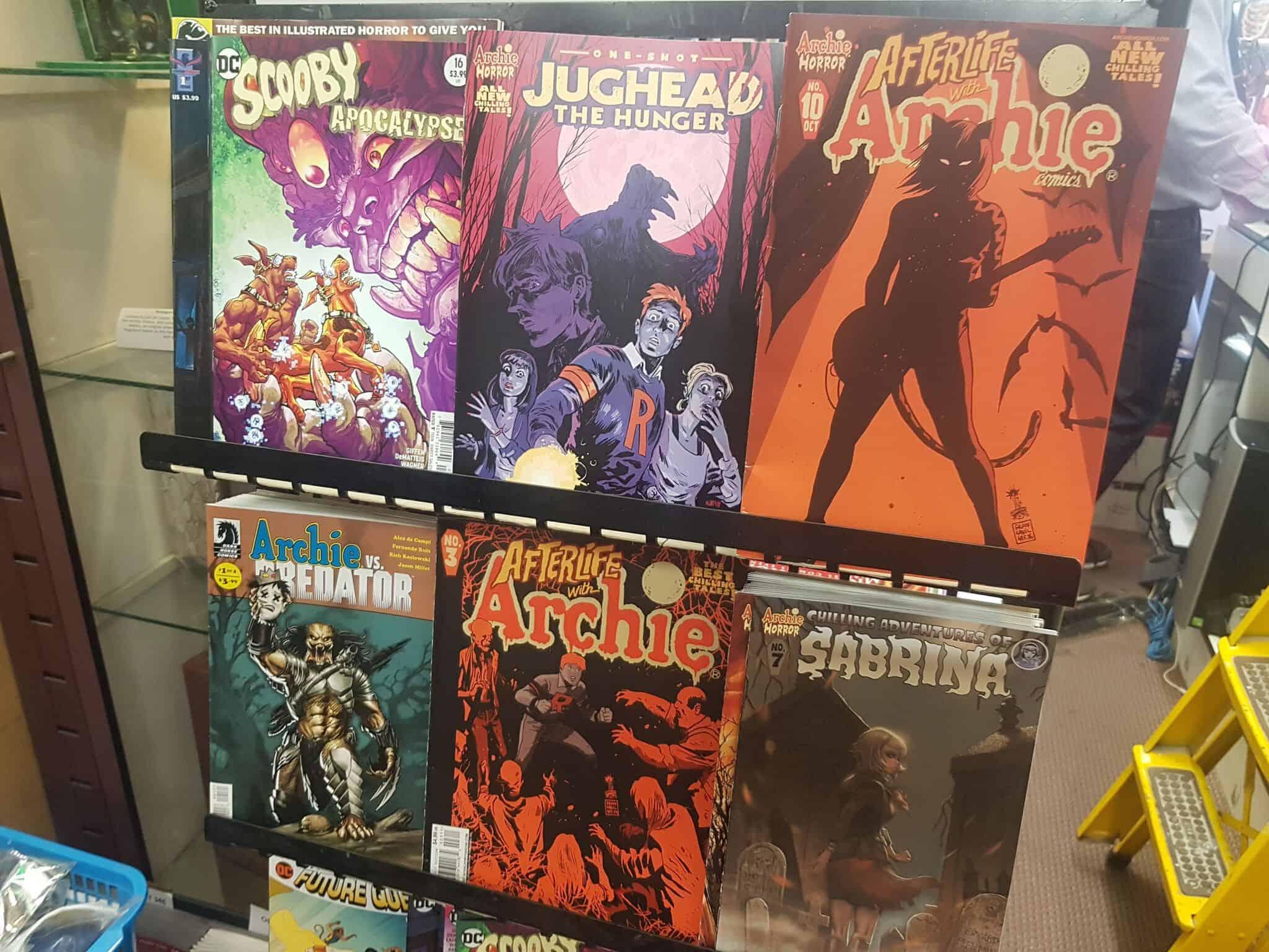 Victoria comic books